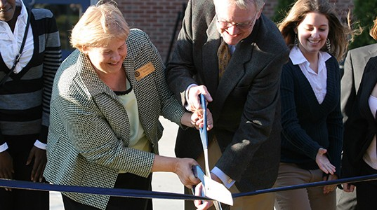 Ribbon Cutting on new Union
