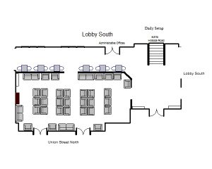 South Lobby Daily Set