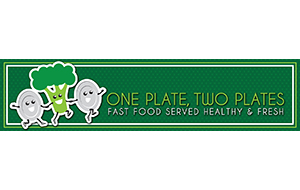 One plate two plates logo